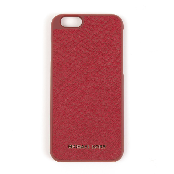 Michael Kors Womens Red Saffiano iPhone 6 Cover  main image