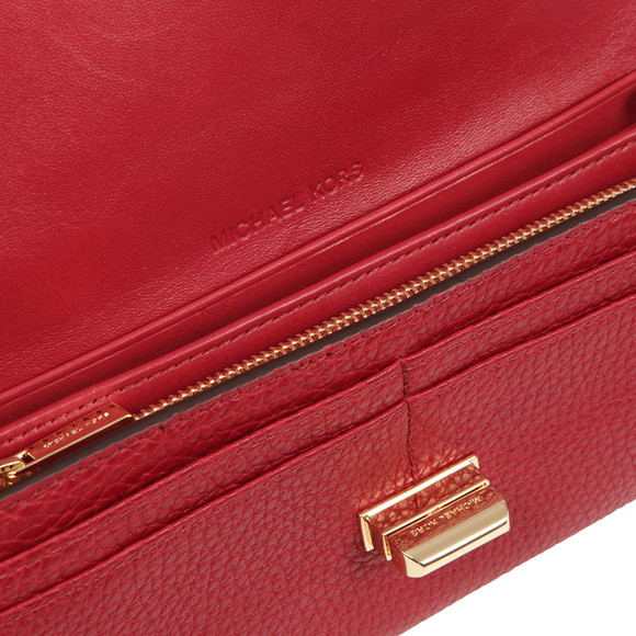 Michael Kors Womens Red Sullivan Large Carryall Purse main image
