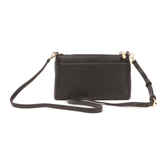 Michael Kors Womens Black Mercer Mid Snap Pocket Crossbody Bag main image