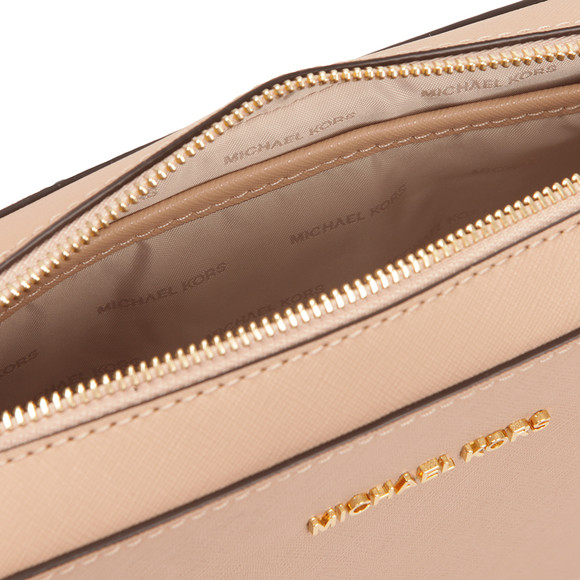 Michael Kors Womens Beige Jet Set Travel Shoulder Bag main image