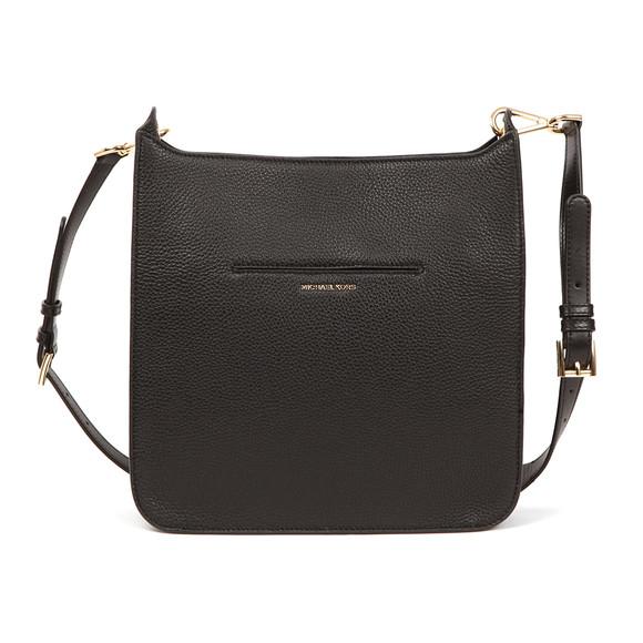 Michael Kors Womens Black Sullivan Large Messenger Bag main image