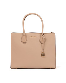 Michael Kors Womens Beige Mercer Large Tote