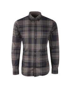 Tommy Hilfiger Mens Blue L/S Axel Check Shirt