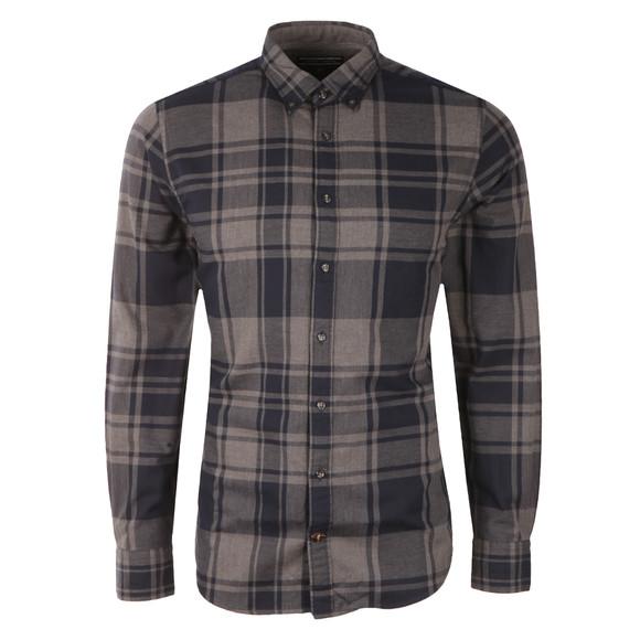 Tommy Hilfiger Mens Blue L/S Axel Check Shirt main image