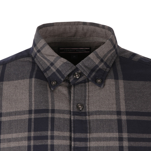 Tommy Hilfiger Mens Blue L/S Axel Check Shirt main image
