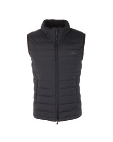 Aquascutum Mens Blue Millford Gilet With CC Lining