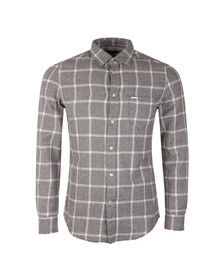 Diesel Mens Grey Tas Shirt