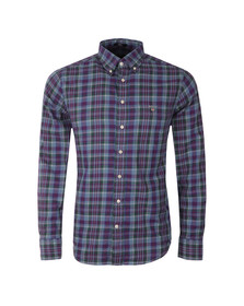 Gant Mens Blue L/S Tratan Shirt