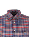 Gant Mens Red L/S Check Shirt