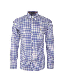 Gant Mens Blue L/S Gingham Shirt