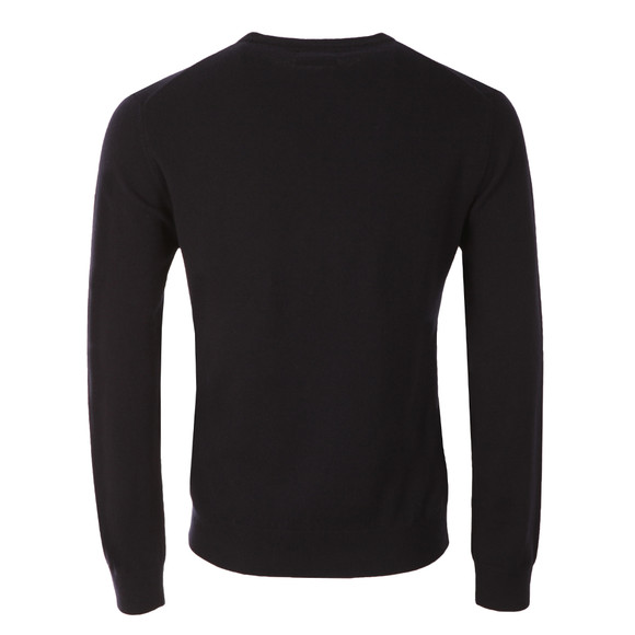 Gant Mens Blue Crew Neck Jumper main image