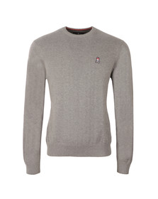Psycho Bunny Mens Grey Crew Neck Sweater