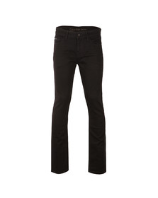 Calvin Klein Mens Black Slim Straight Jean