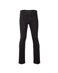Calvin Klein Mens Blue Slim Straight Jean
