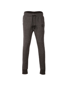 Religion Mens Black Hazard Herringbone Sweatpants