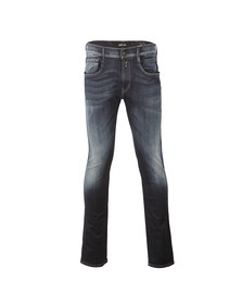 Replay Mens Blue Hyperflex Anabass Jean