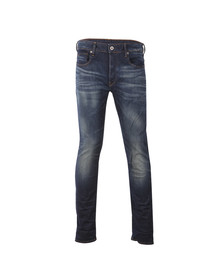 G-Star Mens Blue 3301 Gosk Stretch Jean