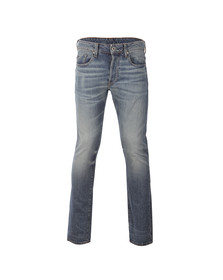 G-Star Mens Blue 3301 Tobe Denim Jean