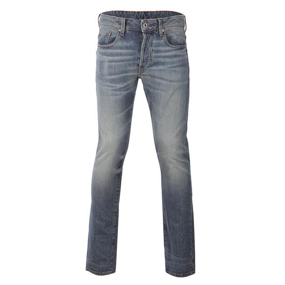 G-Star Mens Blue 3301 Tobe Denim Jean