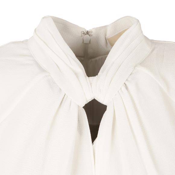Michael Kors Womens Off-white Keyhole Tank main image