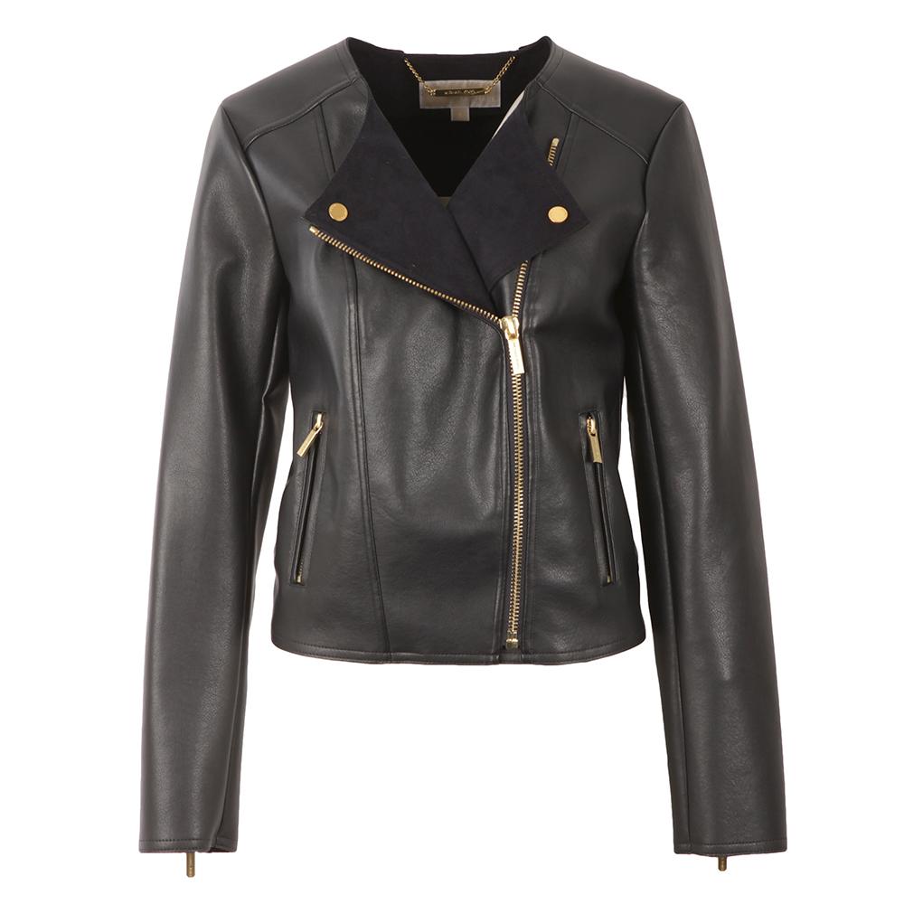 Bonded Faux Leather Jacket main image