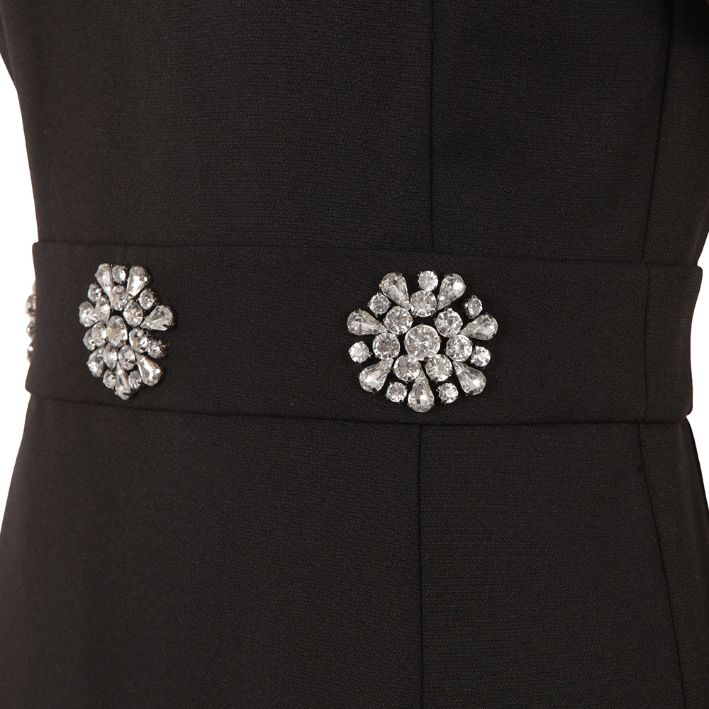 Brooch Detail Dress main image