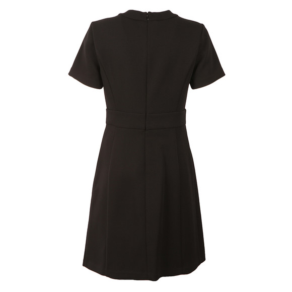 Michael Kors Womens Black Brooch Detail Dress main image