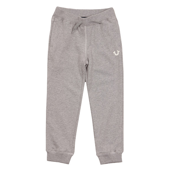 True Religion Boys Grey Horseshoe Logo Sweatpant main image