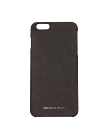 Michael Kors Womens Black Iphone 6 Plus Snap on Case