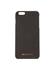 Michael Kors Womens Black Iphone 6 Plus Snap on Case