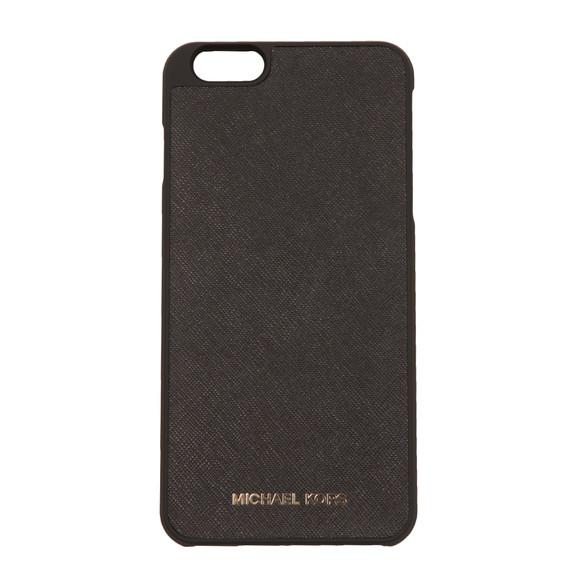 Michael Kors Womens Black Iphone 6 Plus Snap on Case main image