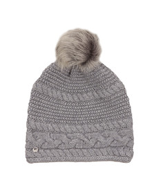 Ugg Womens Grey Cable Oversized Beanie