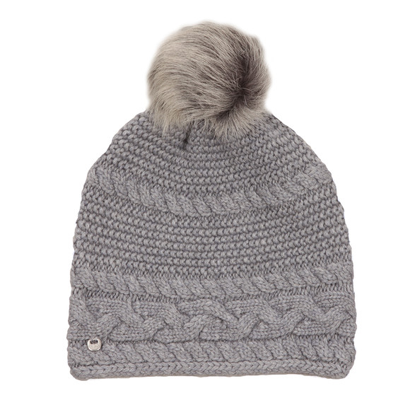 Ugg Womens Grey Cable Oversized Beanie main image