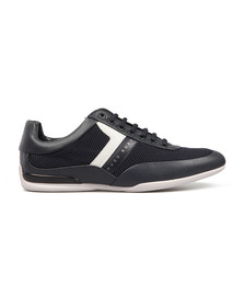Boss Green Mens Blue Space Low Trainer