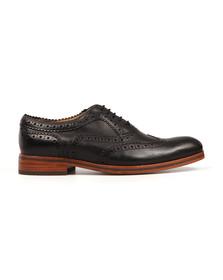 H By Hudson Mens Black Keating Shoe