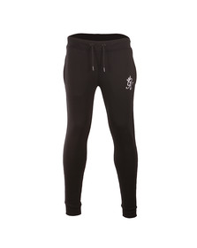 Gym king Mens Black Core Tracksuit Bottoms
