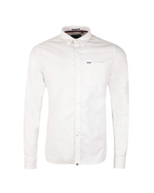 Superdry Mens White Academy Oxford Shirt