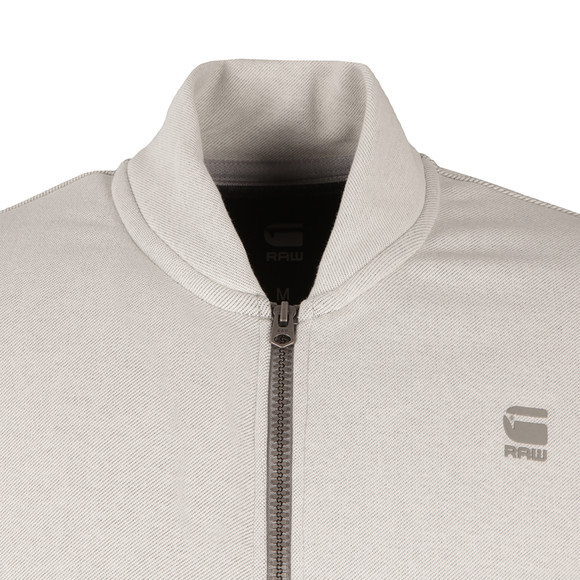 G-Star Mens White Valn Full Zip Sweat main image
