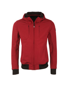 Weekend Offender Mens Red Coppola Jacket