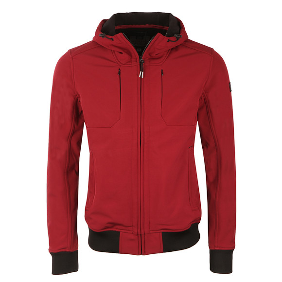 Weekend Offender Mens Red Coppola Jacket main image