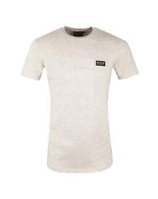 Nicce Mens Beige Nep Fleck T Shirt