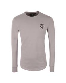 Gym king Mens Off-white Long Sleeve Undergarment Tee