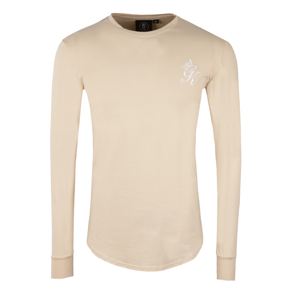 Gym King Mens Beige Long Sleeve Undergarment Tee main image