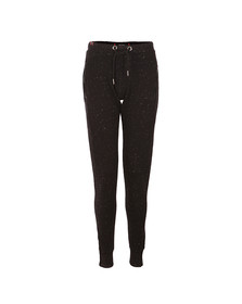 Superdry Womens Black Luxe Fashion Jogger