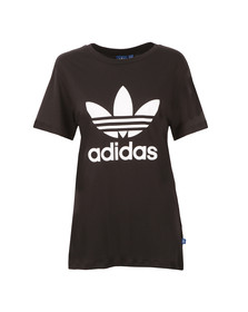 Adidas Originals Womens Black BF Trefoil T Shirt