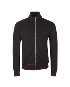 Paul Smith Mens Blue Bomber Full Zip Sweat