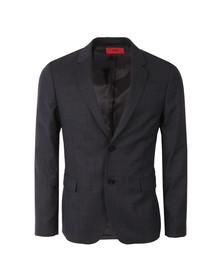 Hugo Mens Blue Arelto Wool Blazer
