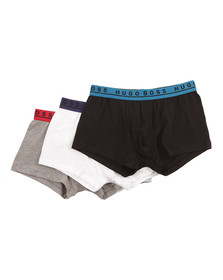 Hugo Mens Multicoloured 3 Pack Boxer