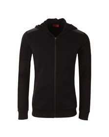 Hugo Mens Black Dellagio Full Zip Hoody