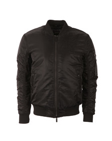 Sik Silk Mens Black Peak Bomber